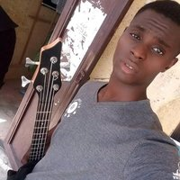 Bass guitarist teaches the bass guitar at home in Kaduna..singing is a bonus to my students