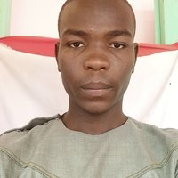 Computer Engineering student offering class to ond student in Ramat Polytechnic Maiduguri.