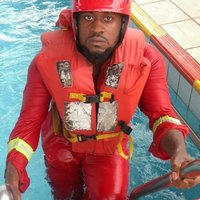 A seaman offering swimming and safety lessons for individuals in Port Harcourt.
